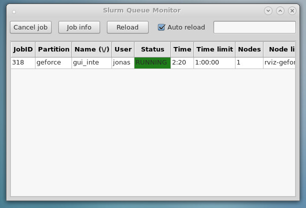 Interactive applications and SLURM - Next generation HPC Desktop